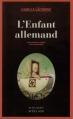 Couverture L'Enfant allemand Editions Actes Sud (Actes noirs) 2013