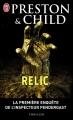 Couverture Relic Editions J'ai Lu 2010