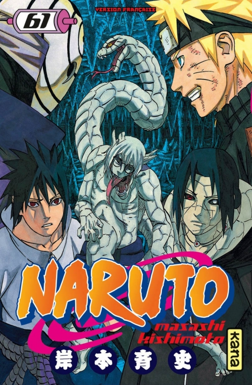 Couverture Naruto, tome 61