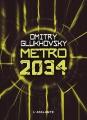 Couverture Métro 2034 Editions L'Atalante (La Dentelle du cygne) 2012