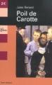 Couverture Poil de carotte Editions Librio 2003