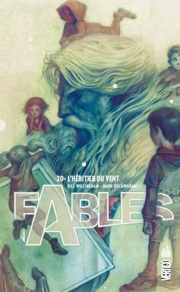 Couverture Fables, tome 20 : L'héritier du vent