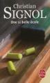 Couverture Une si belle école Editions Le Livre de Poche 2012