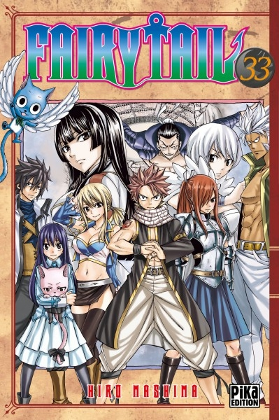 Couverture Fairy Tail, tome 33