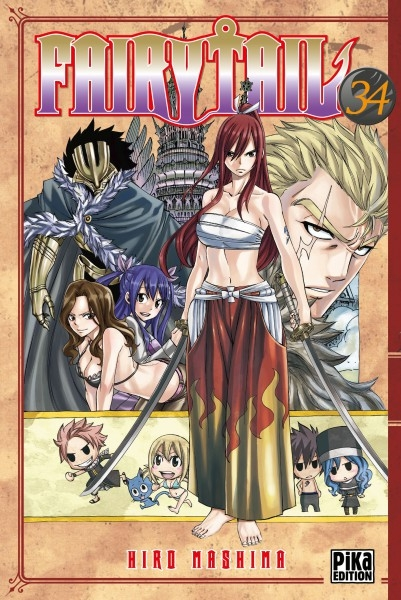 Couverture Fairy Tail, tome 34