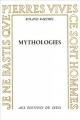 Couverture Mythologies Editions Seuil 1957