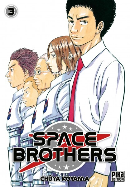 Couverture Space brothers, tome 03