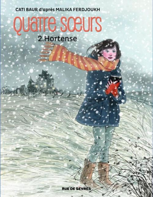 Couverture Quatre soeurs (BD), tome 2 : Hortense