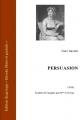 Couverture Persuasion Editions Ebooks libres et gratuits 2009