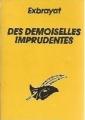 Couverture Des demoiselles imprudentes Editions Librairie des  Champs-Elysées  (Le masque) 1985