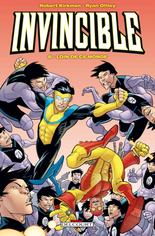 Couverture Invincible, tome 08 : Loin de ce monde