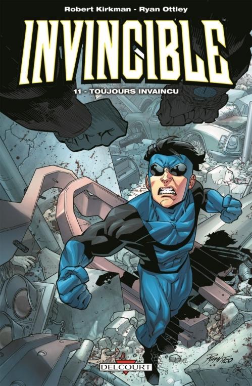 Couverture Invincible, tome 11 : Toujours invaincu