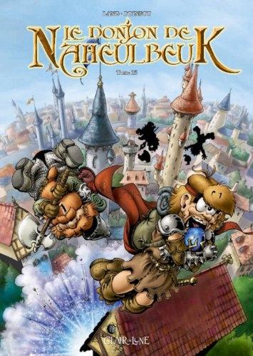 Couverture Le donjon de Naheulbeuk (BD), tome 13 : Quatrième saison, partie 4