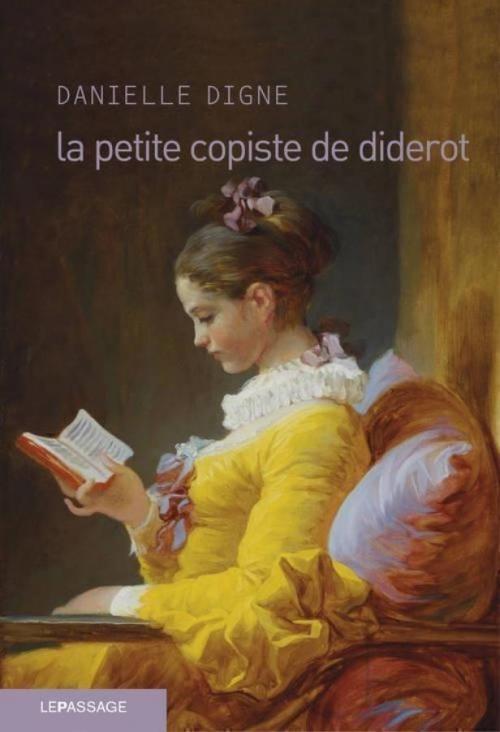 Couverture La petite copiste de Diderot