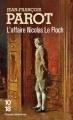 Couverture L'Affaire Nicolas Le Floch Editions 10/18 (Grands détectives) 2012