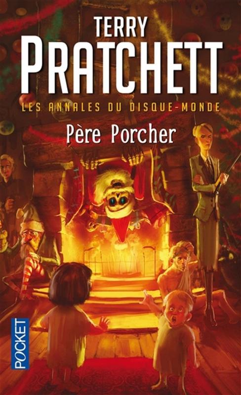 Couverture Les Annales du Disque-Monde, tome 20 : Le Père Porcher