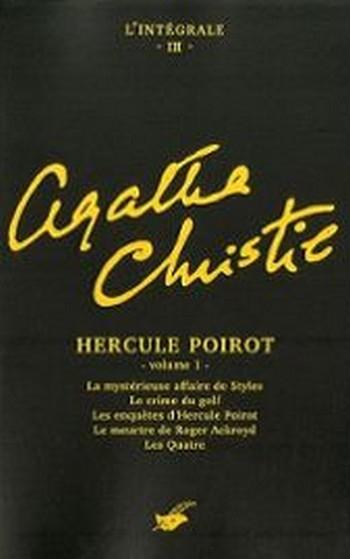 Couverture Hercule Poirot, intégrale, tome 1