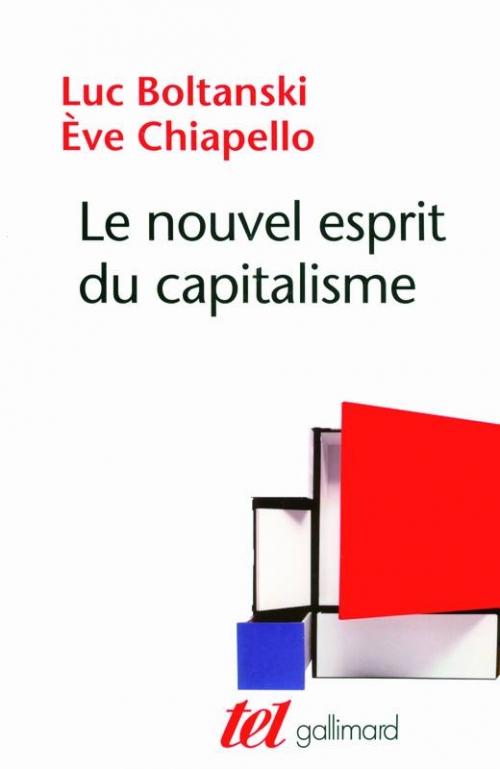 Couverture Le nouvel esprit du capitalisme