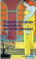 Couverture Elizabeth et son jardin allemand Editions 10/18 (Domaine étranger) 1996