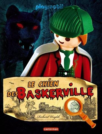 Couverture Playmobil : Le chien des Baskerville