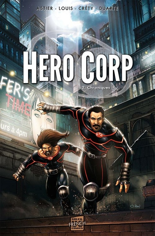 Couverture Hero Corp, tome 2 : Chroniques