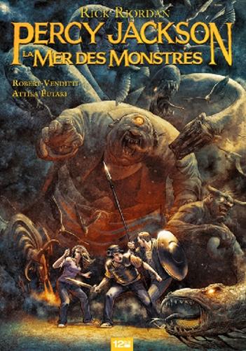 Couverture Percy Jackson (comics), tome 2 : La Mer Des Montres