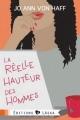 Couverture La réelle hauteur des hommes Editions Laska 2013