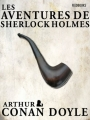 Couverture Sherlock Holme, tome 3 : Les aventures de Sherlock Holmes Editions Feedbooks 1892