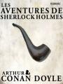 Couverture Les aventures de Sherlock Holmes Editions Feedbooks 2006