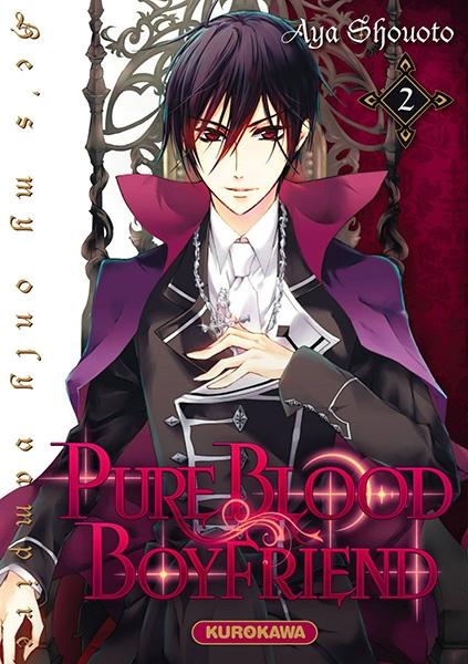 Couverture Pure blood boyfriend, tome 02