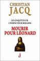 Couverture Les enquêtes de l'inspecteur Higgins, tome 08 : Mourir pour Léonard Editions J 2012