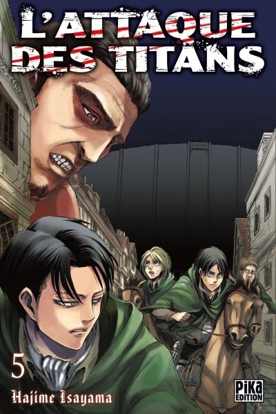 Couverture L'attaque des Titans, tome 05