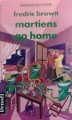 Couverture Martiens, go home ! Editions Denoël (Présence du futur) 1991