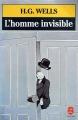 Couverture L'homme invisible Editions Le Livre de Poche 1989