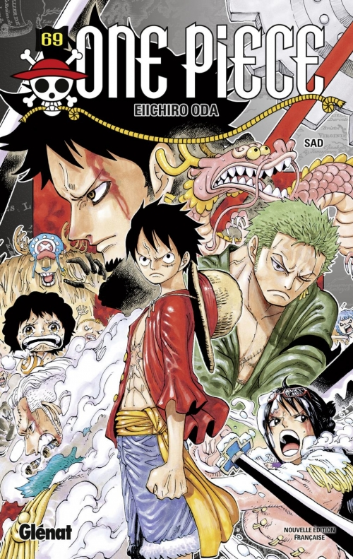 Couverture One Piece, tome 69 : SAD