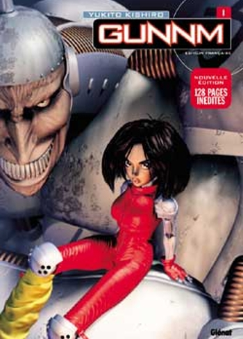 Couverture Gunnm, deluxe, tome 1