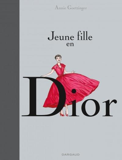 Couverture Jeune fille en Dior