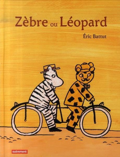 Couverture Zèbre ou Léopard