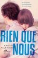 Couverture Rien que nous Editions Albin Michel 2013