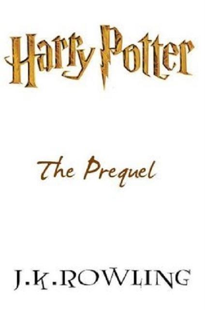 Couverture Harry Potter : The Prequel