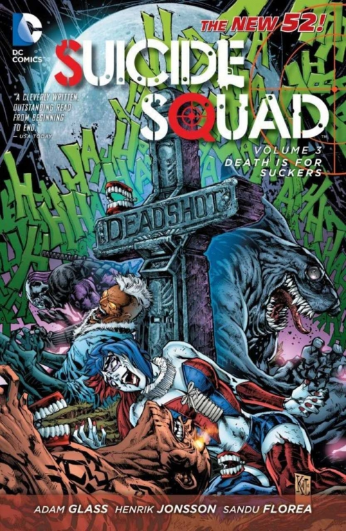 Couverture Suicide Squad, book 3: Death is for Suckers