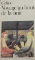 Couverture Voyage au bout de la nuit Editions Folio  1987