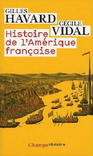 Couverture Histoire de l'Amérique française