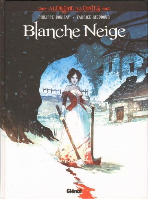 Couverture À l'origine des Contes : Blanche Neige
