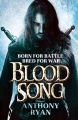 Couverture Blood Song, tome 1 : La voix du sang Editions Orbit Books (Fantasy) 2013
