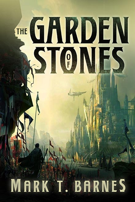 Couverture Echoes of Empire, book 1: The Garden of Stones