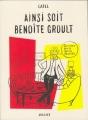 Couverture Ainsi soit Benoîte Groult Editions Grasset 2013