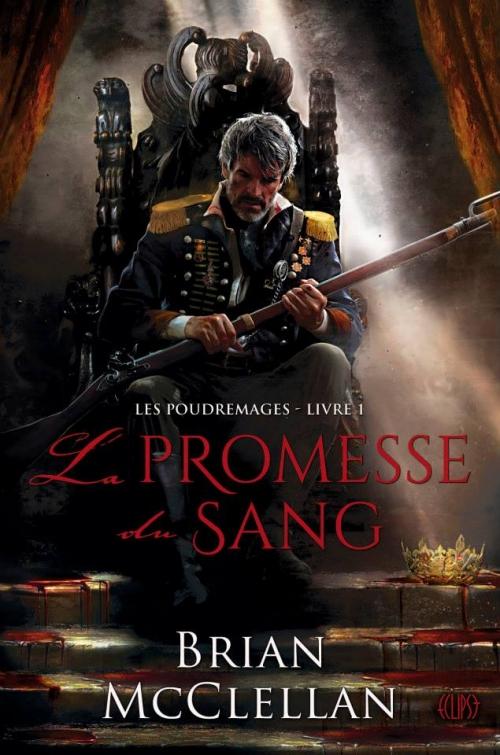 Couverture Les Poudremages, tome 1 : La Promesse du Sang