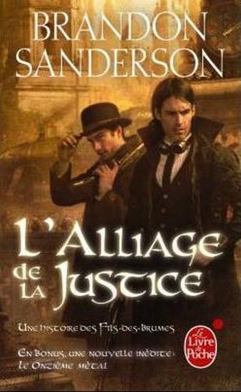 Couverture Fils-des-brumes, cycle 2, tome 1 : L'alliage de la justice