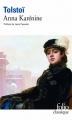 Couverture Anna Karénine Editions Folio  (Classique) 2012